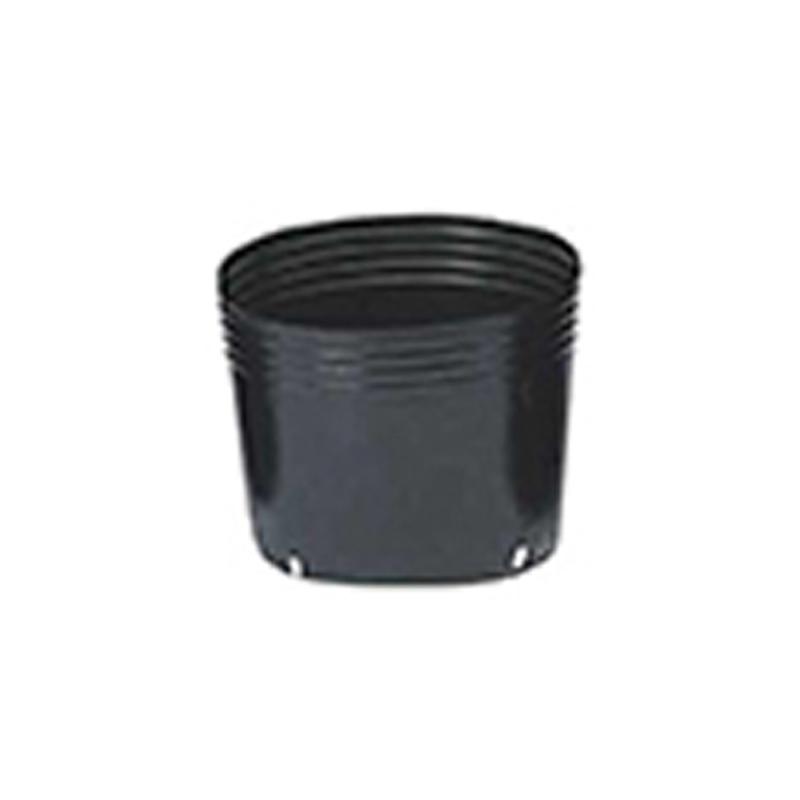 【1000個】 24cm 黒 TO 浅鉢安定型ポット ( UAタイプ ) ポリポット 東海化成 タ種 【代引不可】
