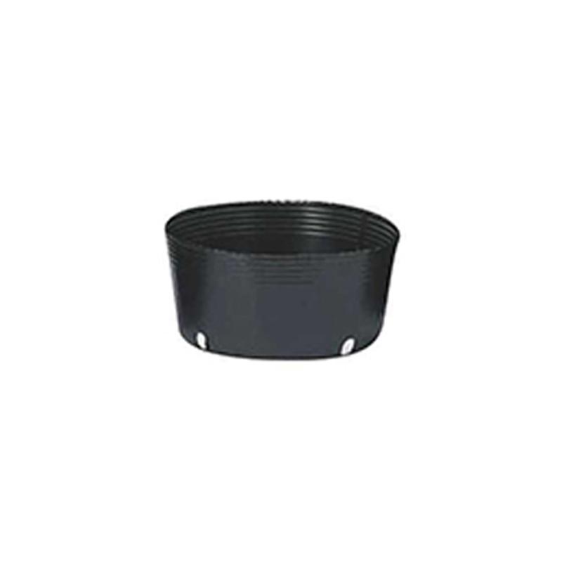 【500個】 30.5cm 黒 TO 平鉢 ( 屋外緑化・グランドカバー用 ) ポリポット 東海化成 タ種 【代引不可】