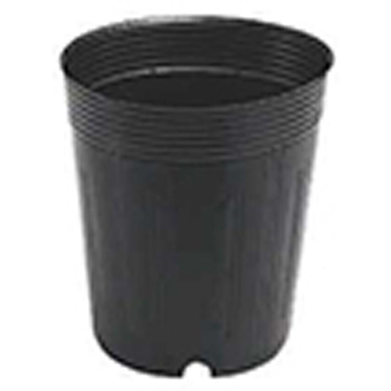 【15000個】 9cm 黒 TO 深鉢 ( カド穴・底穴付 ) ポリポット 東海化成 タ種 【代引不可】