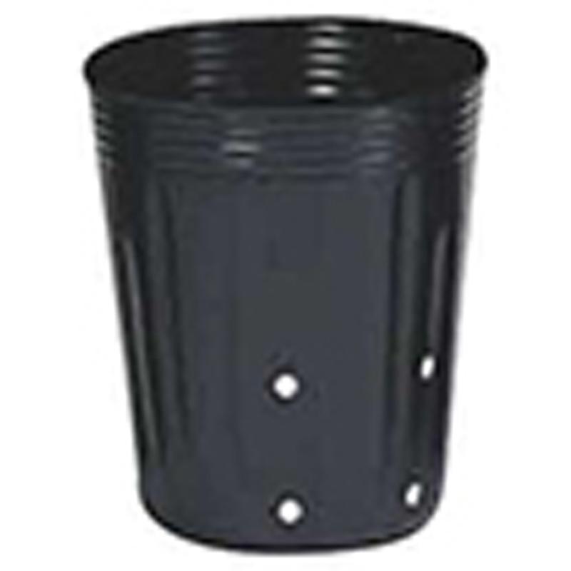 【6000個】 12cm 黒 TO 深鉢側面24穴付 ( UCタイプ ) ポリポット 東海化成 タ種 【代引不可】