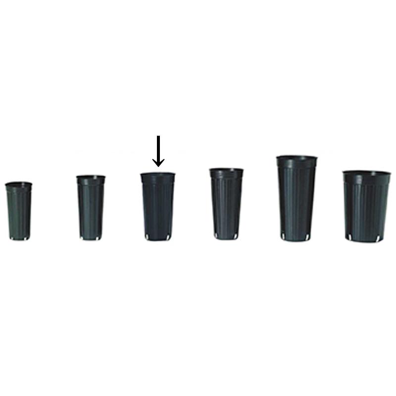 【4500個】 12cm 2 黒 TO ロングポット ( 果樹・植木用 ) ポリポット 東海化成 タ種 【代引不可】