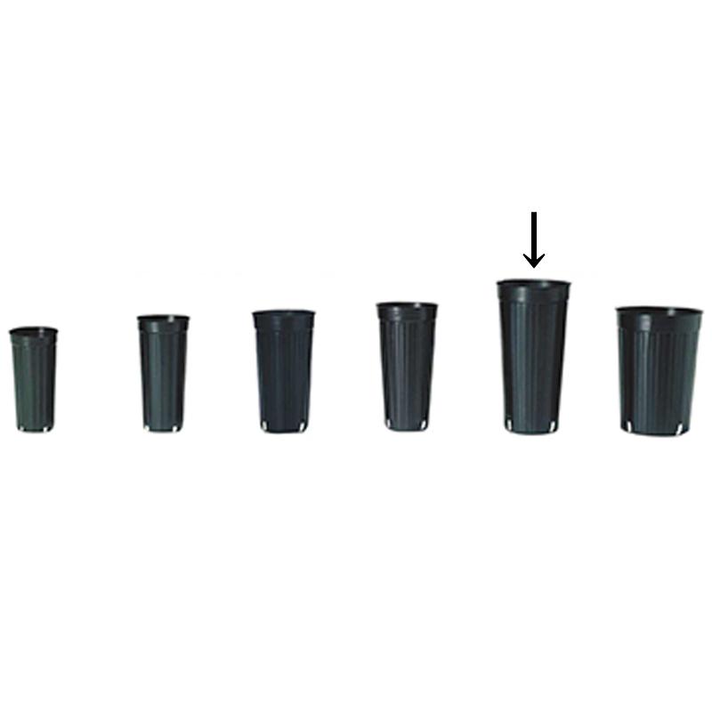 【1000個】 15cm 黒 TO ロングポット ( 果樹・植木用 ) ポリポット 東海化成 タ種 【代引不可】