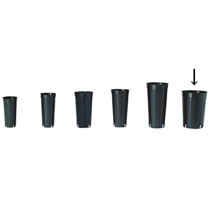 【1000個】 18cm 黒 TO ロングポット ( 果樹・植木用 ) ポリポット 東海化成 タ種 【代引不可】