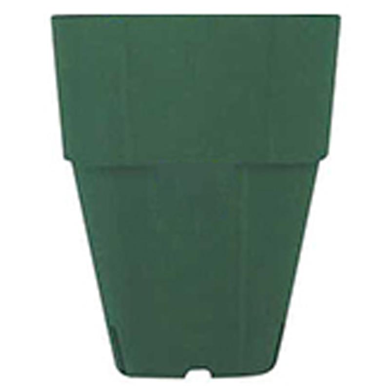 【4000個】 10.5cm 深緑 TO 硬質 アルファポット深型 ポリポット 東海化成 タ種 【代引不可】