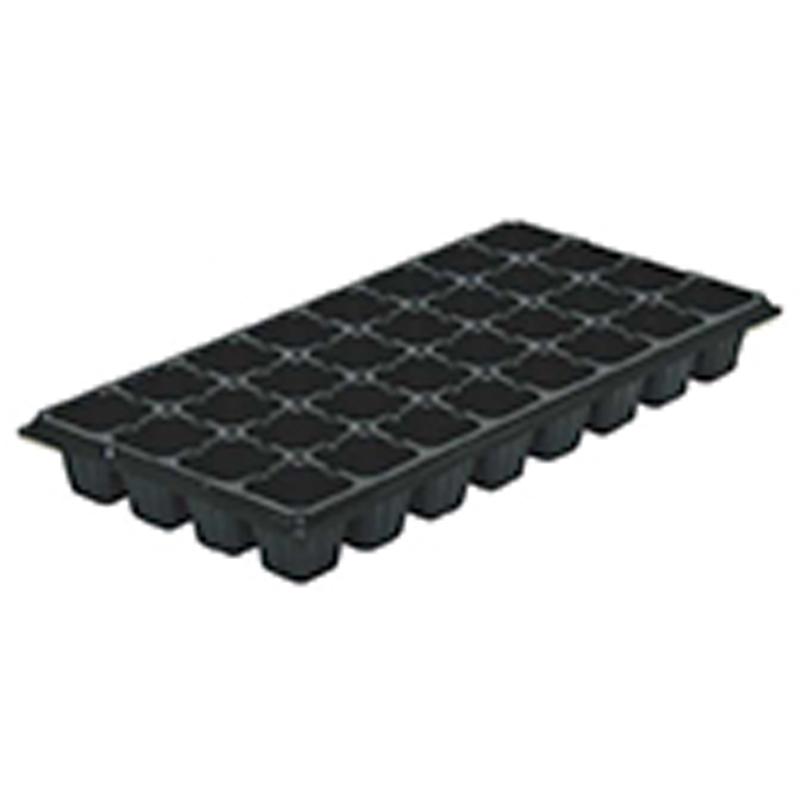 【500個】 54cm ×28cm 黒 TO プラグトレー ♯32 ( 4×8列 ) 東海化成 タ種 【代引不可】