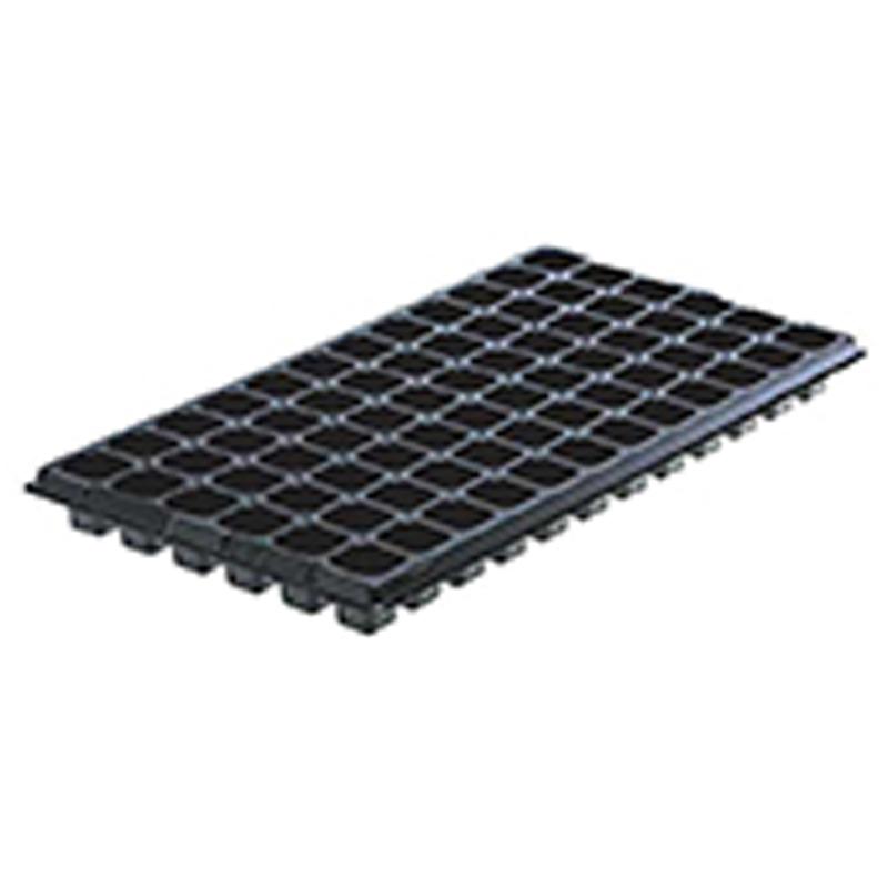 【500個】 54cm ×28cm 黒 TO プラグトレー ♯72 ( 6×12列 ) 東海化成 タ種 【代引不可】