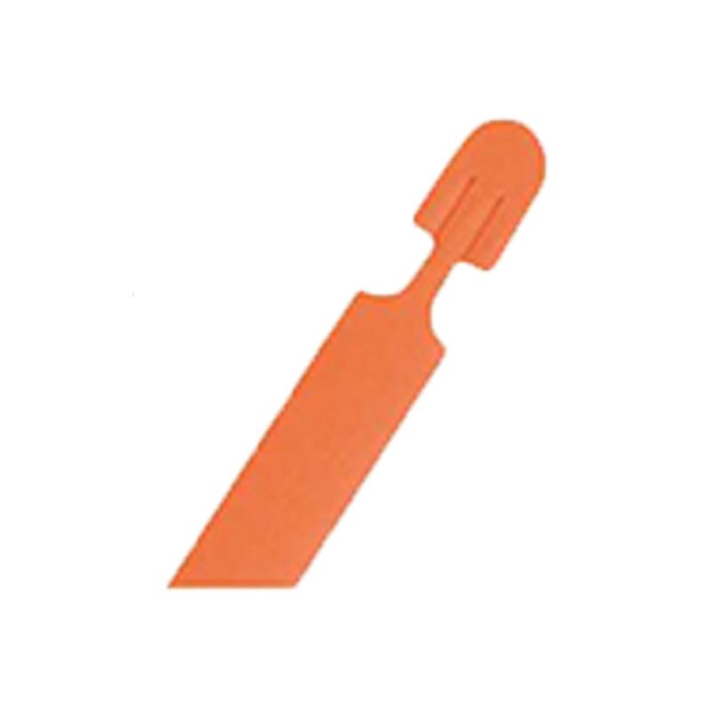 【600個】 39cm オレンジ カットバック用取っ手ひも 東海化成 タ種 【代引不可】