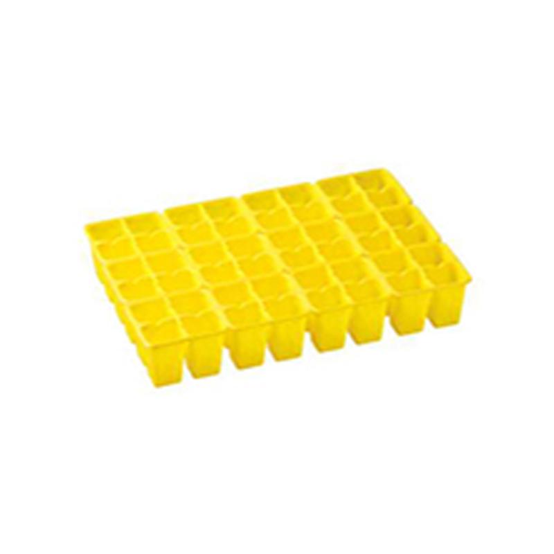 【750個】 33.3cm ×48cm 黄 TO 4連×12パック ラベル挿し02トレー 用 東海化成 タ種 【代引不可】