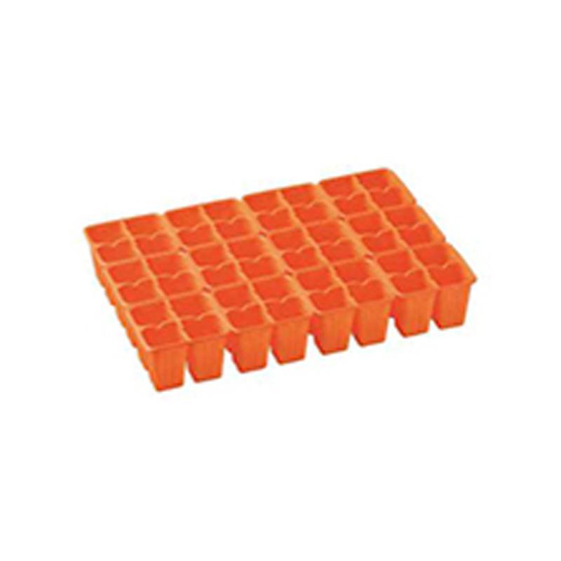 【750個】 33.3cm ×48cm オレンジ TO 4連×12パック ラベル挿し02トレー 用 東海化成 タ種 【代引不可】
