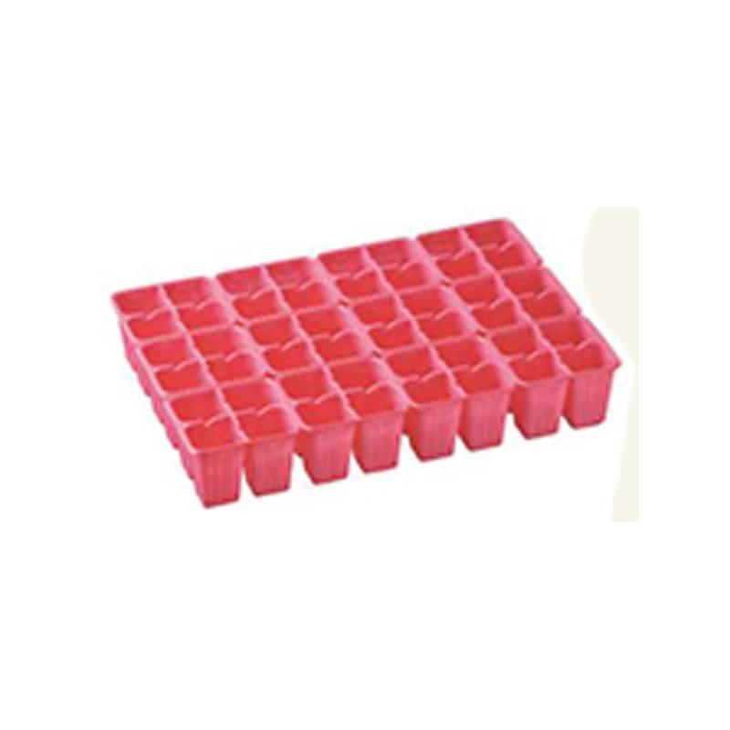 【750個】 33.3cm ×48cm 赤 TO 4連×12パック ラベル挿し02トレー 用 東海化成 タ種 【代引不可】