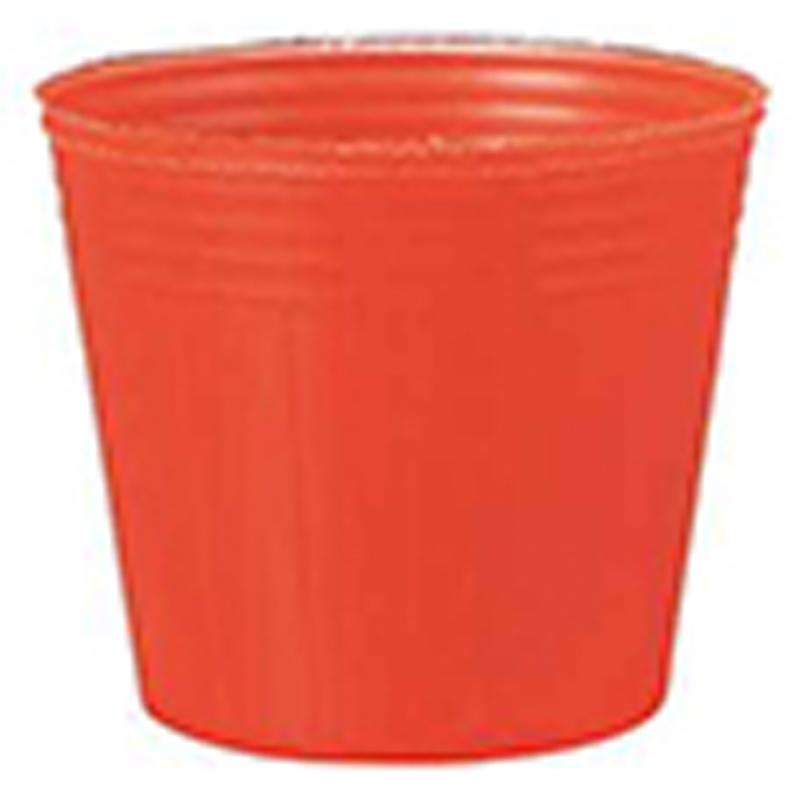 25000個 8cm 赤 TO カラーポット ポリポット 東海化成 タ種 代引不可 100%新品
