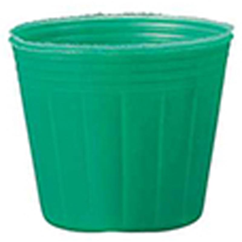 【15000個】 10.5cm 緑 TO カラーポット ポリポット 東海化成 タ種 【代引不可】