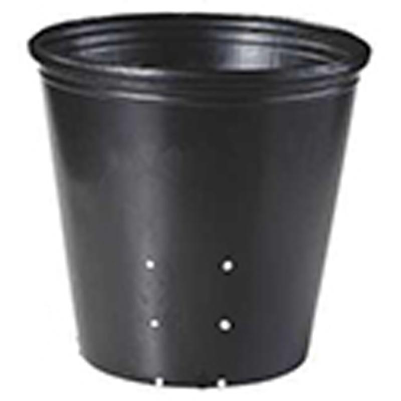【500個】 24cm 黒 TO ポリポット側面穴付 ( UBタイプ ) ポリポット 東海化成 タ種 【代引不可】