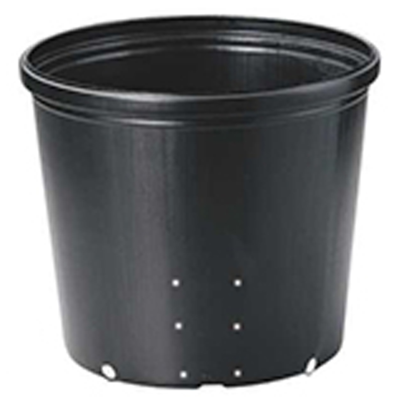 【125個】 36cm 黒 TO ポリポット側面穴付 ( UBタイプ ) ポリポット 東海化成 タ種 【代引不可】