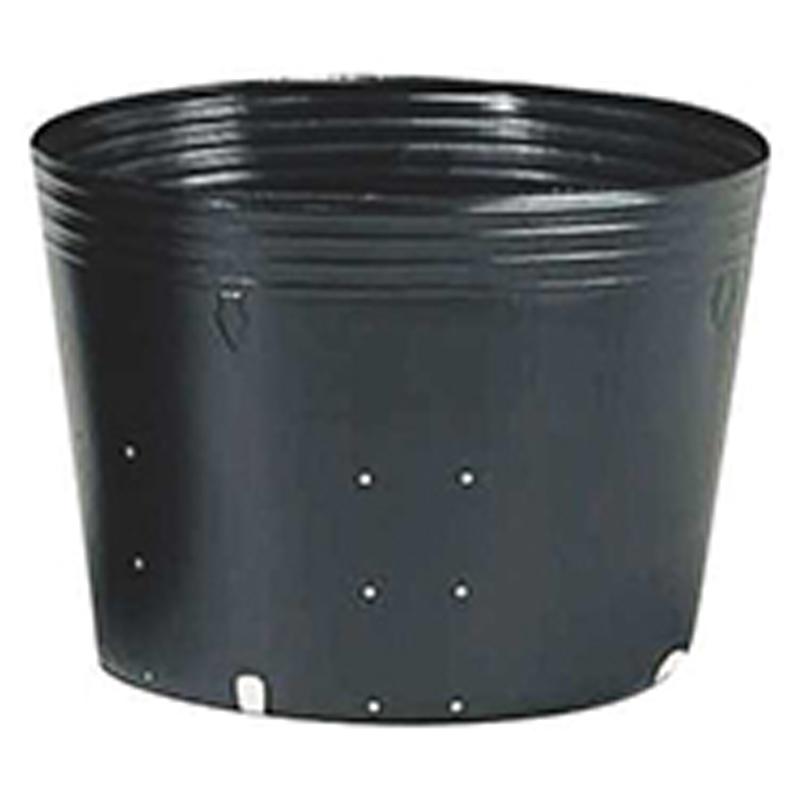 【125個】 40cm 黒 TO ポリポット側面穴付 ( UBタイプ ) ポリポット 東海化成 タ種 【代引不可】