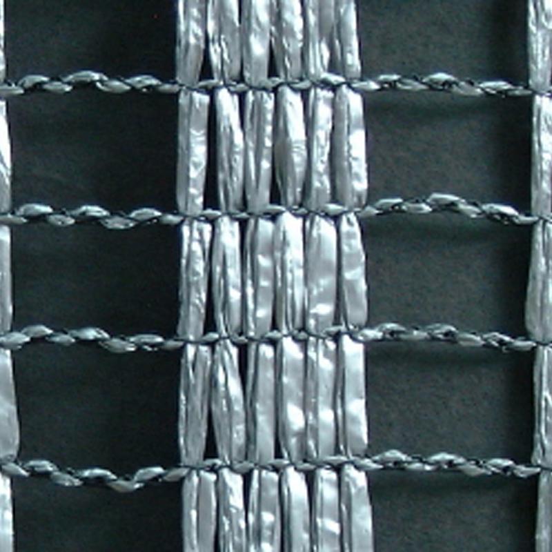 2m × 50m シルバー 遮光率45% ワイエムネット Sタイプ 遮光ネット S-1315 寒冷紗 望月 タ種 【代引不可】