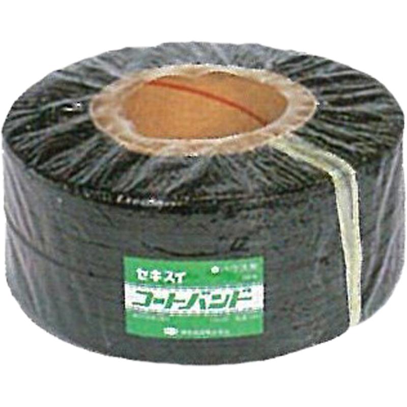 【8個】 セキスイ コートバンドB 黒 500m×12mm ビニールハウス 用 バンド タ種 【代引不可】