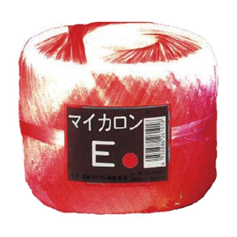 40個 マイカロンE 玉巻 赤 300m × 70mm pp ビニール 荷物 の 荷造り 梱包 紐 ロープ タ種 代引不可