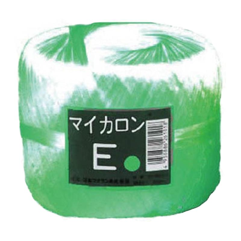40個 マイカロンE 玉巻 緑 300m × 70mm pp ビニール 荷物 の 荷造り 梱包 紐 ロープ タ種 代引不可
