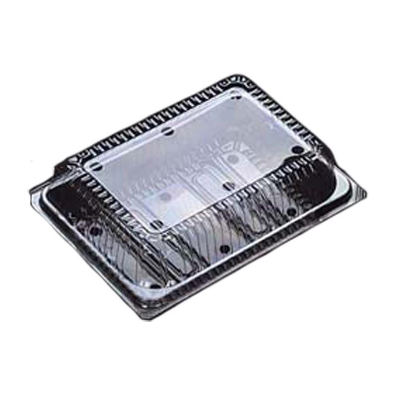 個人宅配送不可 1200枚 OP-163 180 × 132 × 高 62 mm OPS 49170 トマト用 食品容器 デンカポリマー Sモ 代引不可