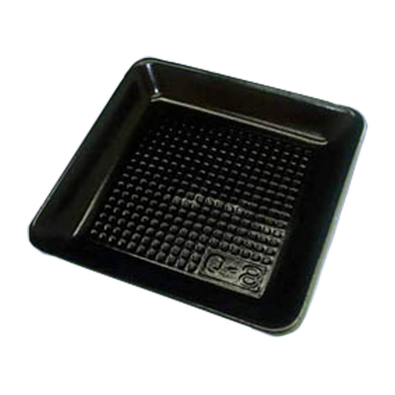 個人宅配送不可 2000枚 Q-8 163 × 163 × 高 19 mm PSP(高) 53870 トマト 他 食品容器 デンカポリマー Sモ 代引不可