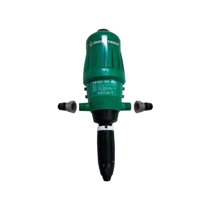 液肥混入器ドサトロン DR06GL 注入量0.02~60L 作動流量0.16~50L 潅水用品のサンホープ カ施【代引不可】