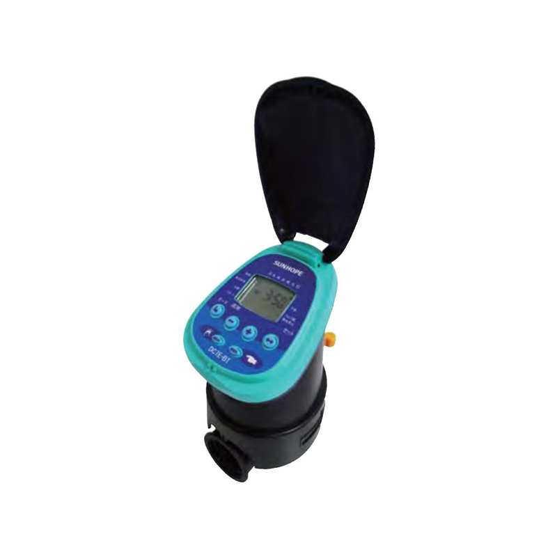 【個人宅配送不可】 電池式 自動かん水タイマー DC7E-BT Bluetooth搭載 接続口径20mm 潅水用品のサンホープ カ施【代引不可】