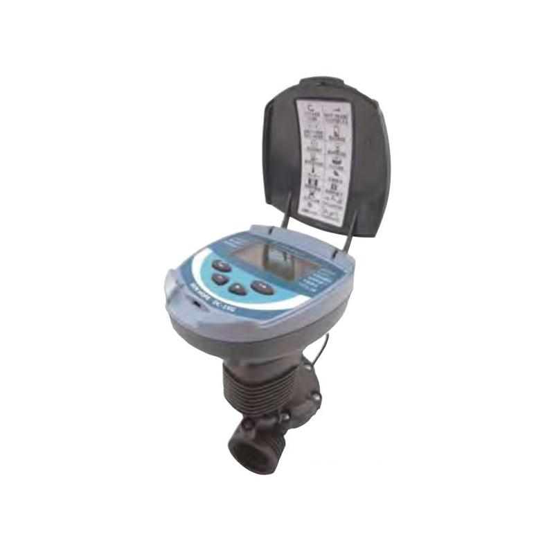 【個人宅配送不可】 スプリンクラーシンカー 自動かん水タイマー 乾電池式 DC1SG-50 センサー入力ケーブル付 接続口径50mm 潅水用品のサンホープ カ施【代引不可】