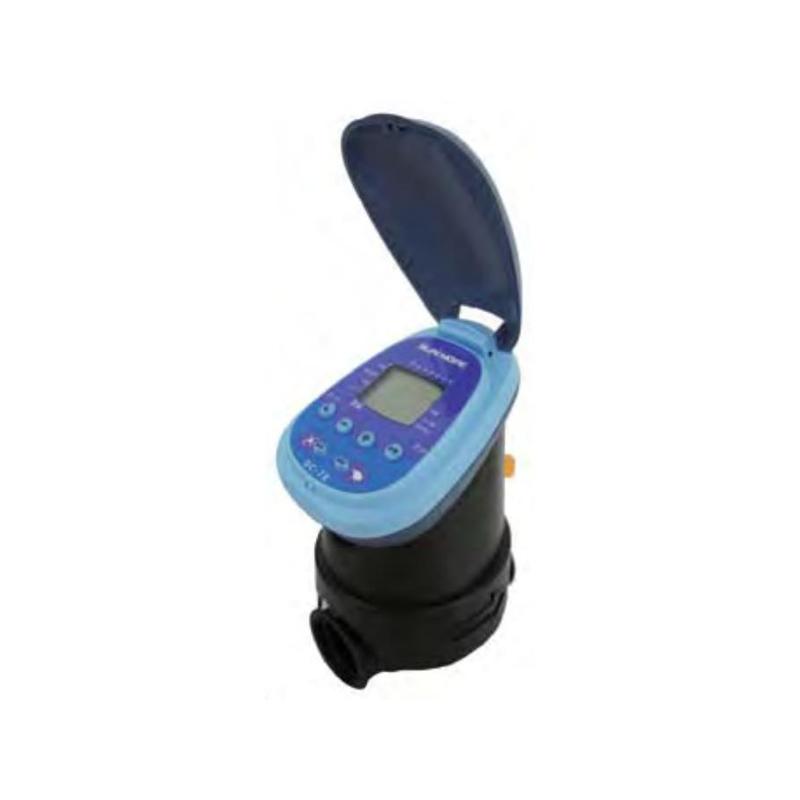 スプリンクラーシンカー 自動かん水タイマー 乾電池式 DC7E 電磁弁一体型 接続口径25mm 潅水用品のサンホープ カ施【代引不可】