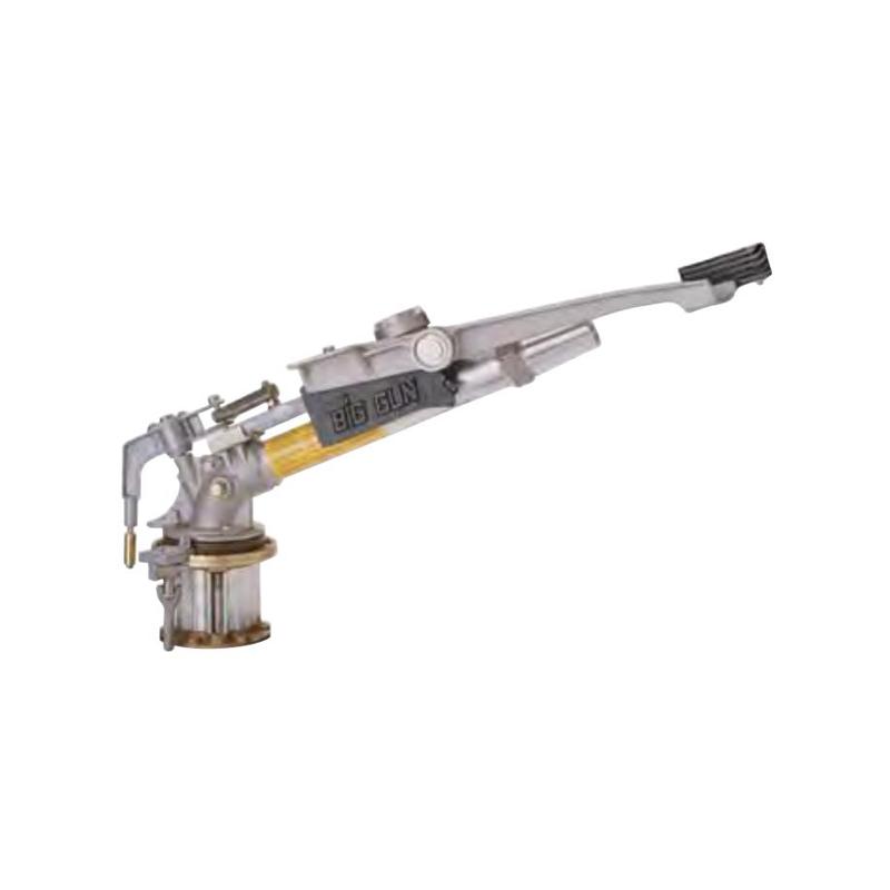 ビッグガン SR100 ノズル径22.7mm 散水量486~738L 散水直径76.0~99.4m 潅水用品のサンホープ カ施【代引不可】