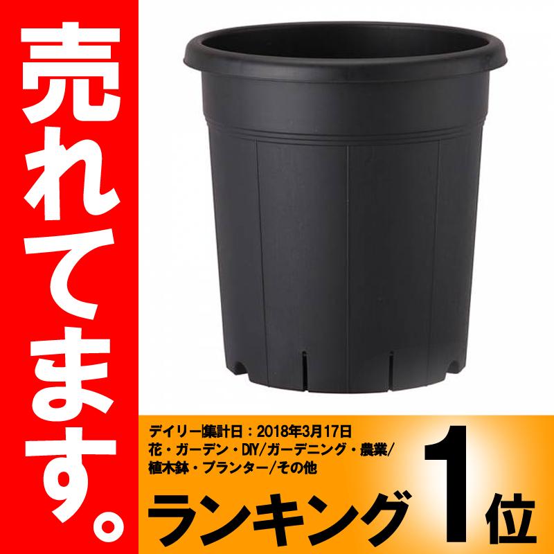 【30個】 245型 ブラック 果樹鉢 ポット 鉢 おしゃれ アップルウェアー タ種D
