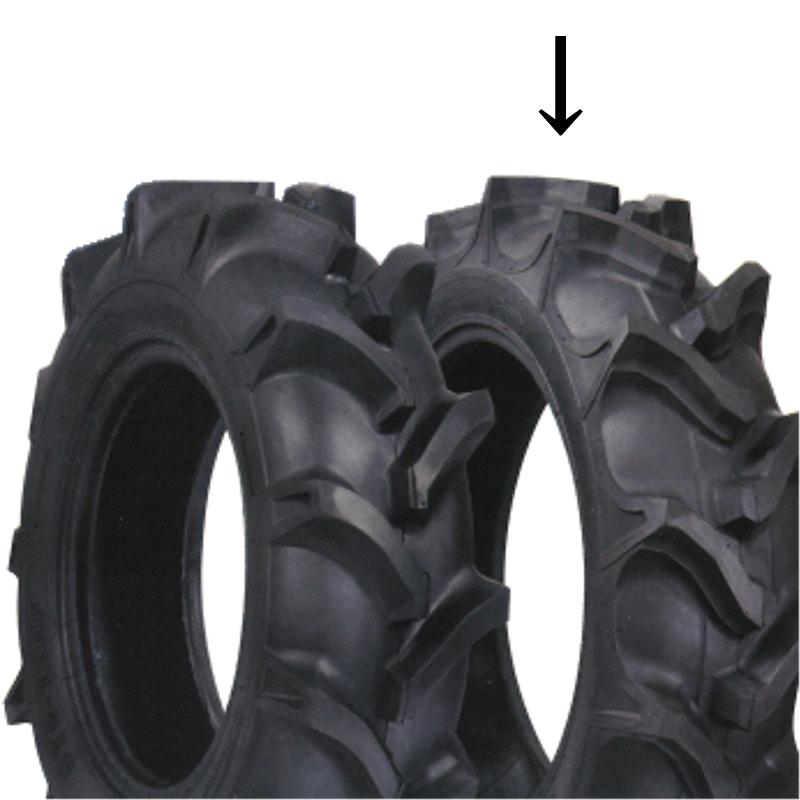 HR トラクター用後輪タイヤ ST-HR 9.5-24 4PR バイアスタイヤ RT0736ST2 KBL オK 【代引不可】