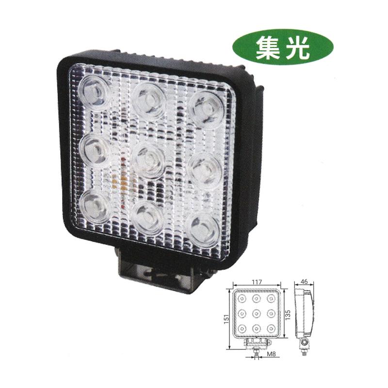 LEDライト KGL424B ノイズキャンセラー対応 KBL ケービーエル 【代引不可】