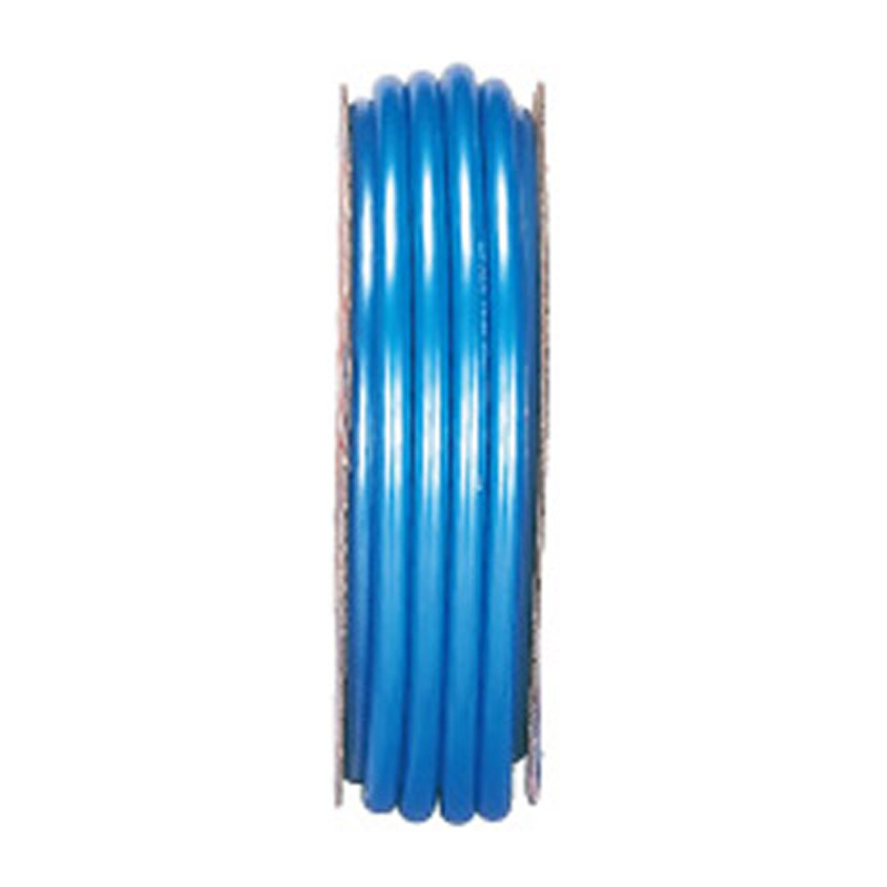 【50m×4個】 フラッシュ ホース ブルー 内径 15mm ×外径 20mm 中部ビニール カ施 【代引不可】