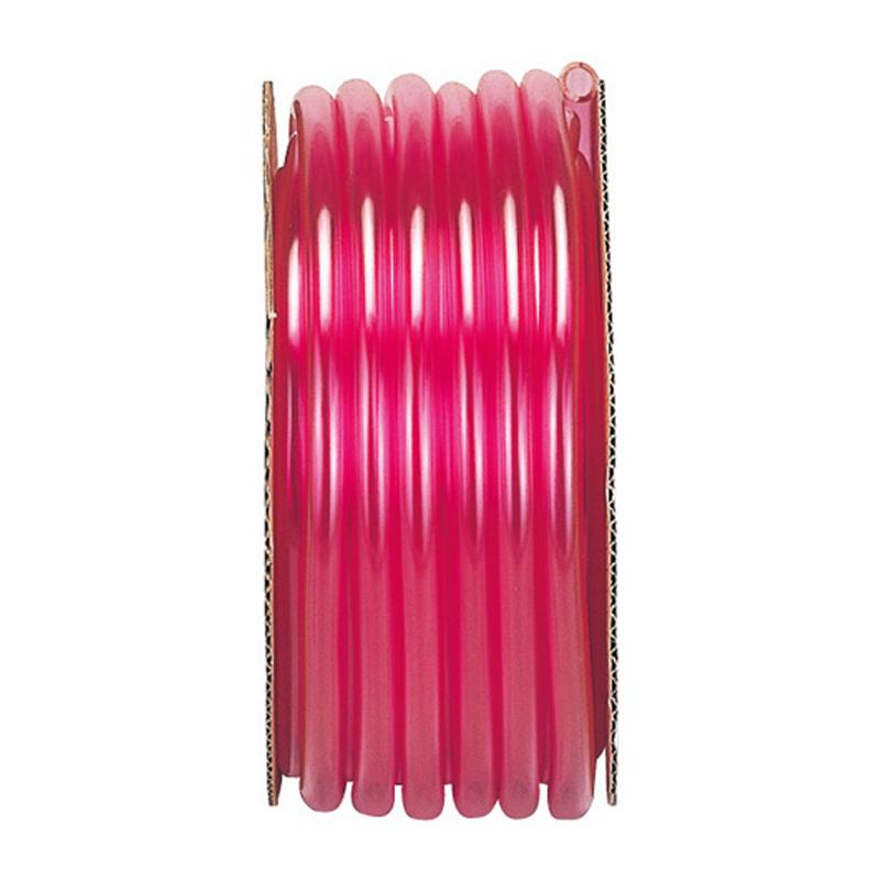 ピンク 内径 カ施 ×外径 【15m×6個】 チューブ 28mm 【代引不可】 中部ビニール 耐油燃料 22mm