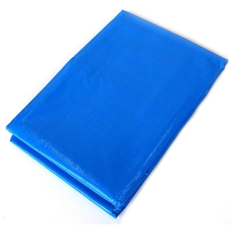 【12枚】 ブルーシート #3000 ファミリーシート 3.6 × 4.5 m ブルー 萩原工業製 国産日本製 ツ化D