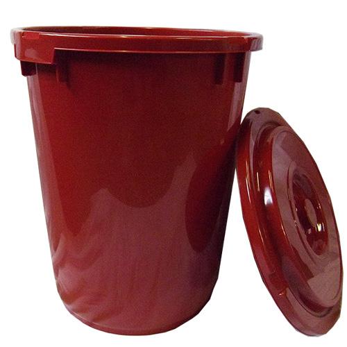 【5個】 トンボ プラスチック製 みそ樽 60型 容量60L 国産 金T【代引不可】