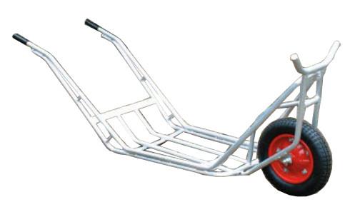 【個人宅配送不可】【離島配送不可】 ハラックス アルミ 植木運搬用一輪車 CU-1 植木用一輪車 防J【送料無料】【代引不可】
