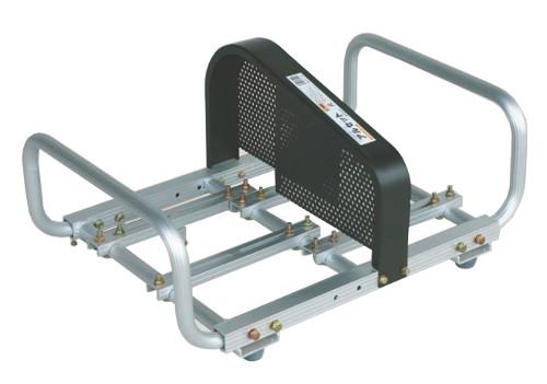 ハラックス アルミ製 動噴セット台 アルセット DS-70R 防J 個人宅配送不可 代引不可