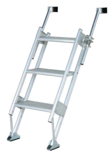 【個人宅配送不可】ハラックス 多目的階段・ステップ幅広タイプ マルチステッパー MTS-40-3-1200S 防J【送料無料】【代引不可】