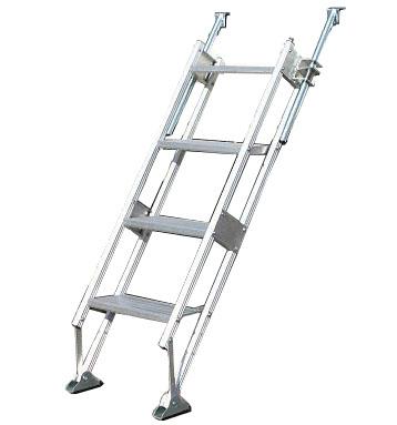 【個人宅配送不可】ハラックス 多目的階段・ステップ幅広タイプ マルチステッパー MTS-40-4-1500S 防J【送料無料】【代引不可】