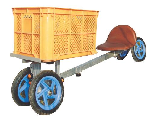 【個人宅配送不可】ハラックス 乗用作業車 パラエモン NAH-1 作物の収穫・管理 アスパラなど 防J【送料無料】【代引不可】