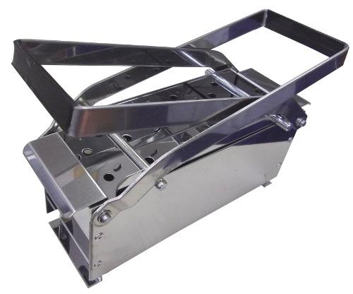 【在庫限り】 ステンレス製 紙燃料 薪 ペーパーログ製作器 アウトドアなどに 冨KDNZZ