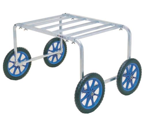ハラックス 楽太郎 アルミ製 収穫 植え付用台車 RA-80 (テーブル無) 防J 個人宅配送不可 代引不可