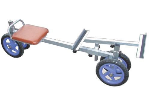 【個人宅配送不可】ハラックス アルミ製 いちご収穫用 幅狭台車 ラクエモン RS-700S 防J【送料無料】【代引不可】