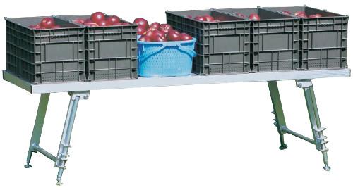 【大型商品一部配達不可地域有】ハラックス アルミ製 作業台 台五郎 SD-2065 防J【代引不可】