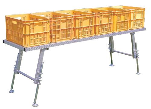一部配達不可地域有 ハラックス アルミ製 作業台 台五郎 SD-2175 防J 個人宅配送不可 代引不可