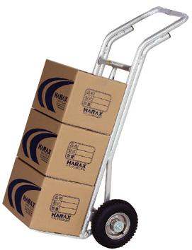 【個人宅配送不可】ハラックス アルミ 重量物運搬台車 タフボーイ TB-R 防J【送料無料】【代引不可】