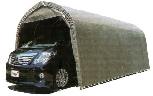 パイプ車庫 3256USB 埋込車庫大型BOX用 西3 南栄工業 D