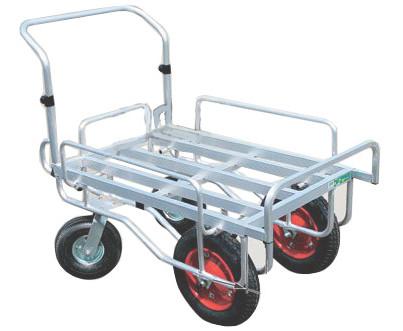 ハラックス 愛菜号 アルミ製台車 CHJ-2000 2輪自在タイプ 防J 個人宅配送不可 代引不可